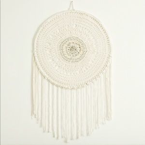Anthropologie Large Beaded Wall Hanging